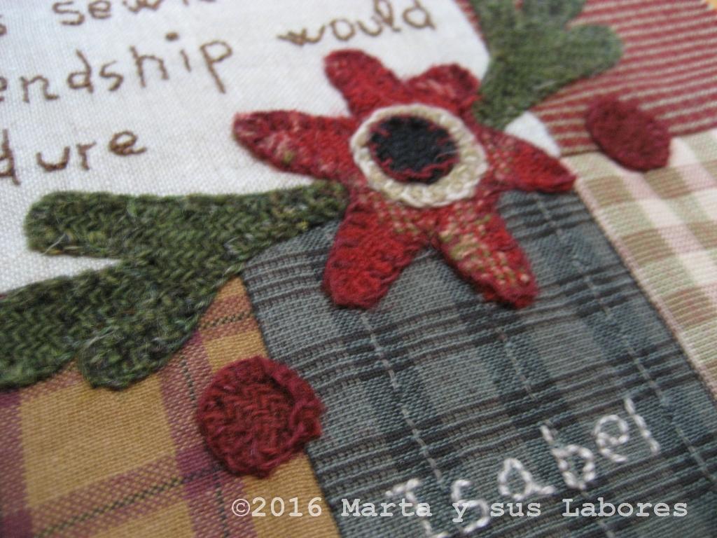 Marta y sus labores the maker 39 s quilt enero i - Tendederos marta precios ...