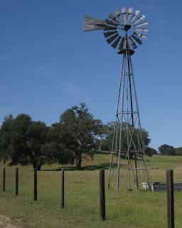 Aermotor windmill near Santa Margarita, California