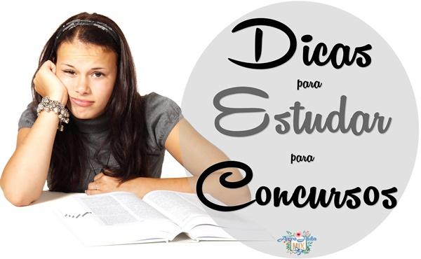5 Dicas Valiosas para Estudar para Concursos