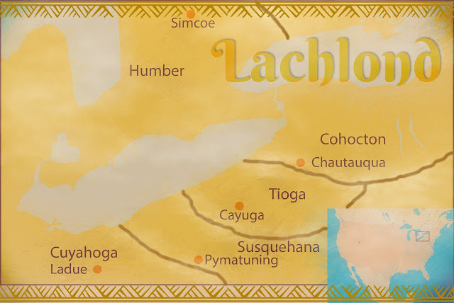 Map of Lachlond