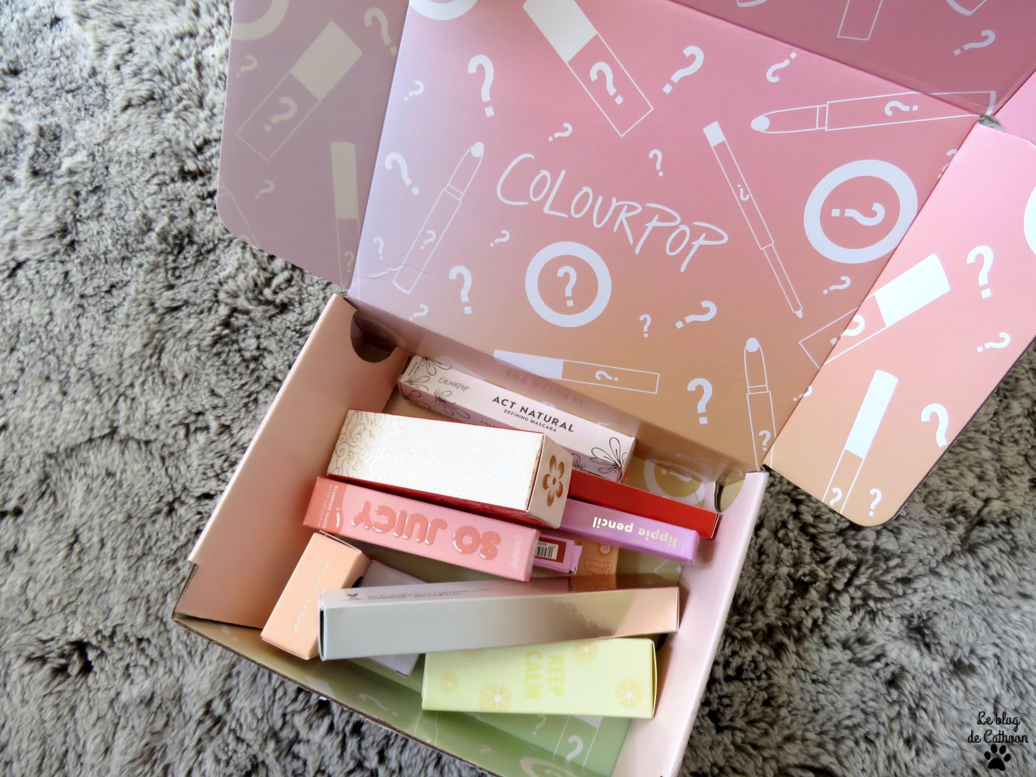mystery box Colour Pop