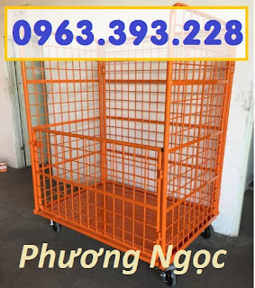 Lồng trữ hàng, pallet lưới, lồng trữ hàng sơn tĩnh điện,sọt lưới đựng hàng 5a88d24060169948c007