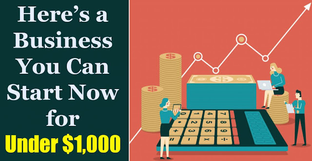 cheap businesses to start with one thousand dollars lean startup costing a grand