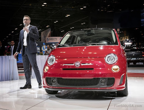 Steve Beahm, Head of Fiat USA