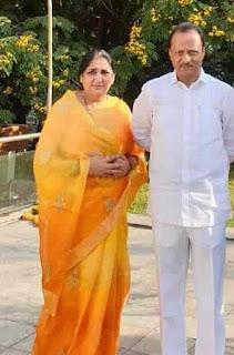 Sunetra Pawar Husband