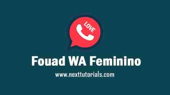 Fouad WA Love Feminino v8.93 Apk Mod Latest Version Android,intsall Aplikasi Fouad WA Love Apk Mod anti banned Terbaru 2021, Download tema wa keren,