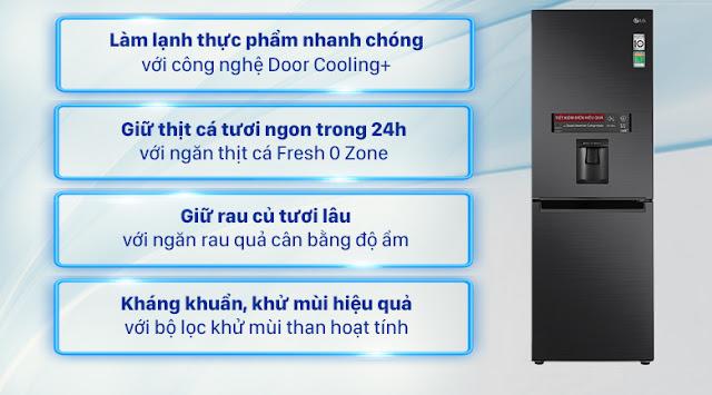 Sửa Tủ lạnh LG Inverter