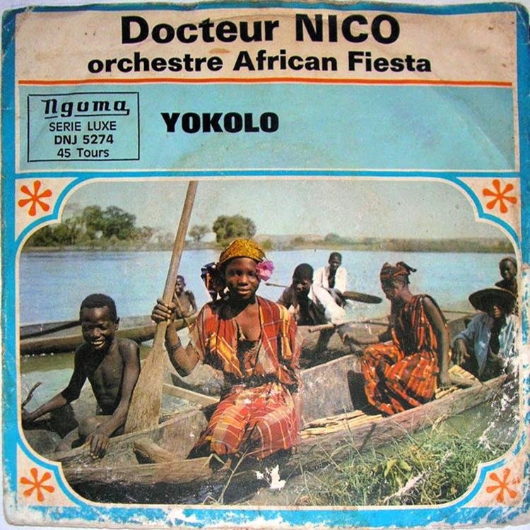 Dr Nico LOrchestre African Fiesta Sukisa LAfrique Danse N 10