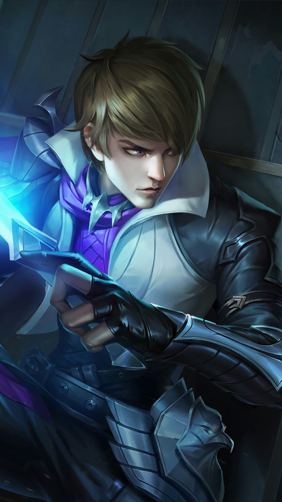 Wallpaper Gusion Holy Blade Skin Mobile Legends HD for Android and iOS