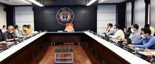 कोविड-19 के संक्रमण को नियंत्रित करने के लिए सर्विलांस तथा कॉन्टैक्ट ट्रेसिंग जरूरी -मुख्यमंत्री योगी