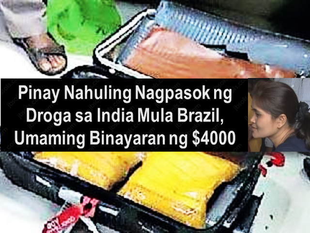 A Filipina was arrested by the Narcotic Control Bureau (NCB) for smuggling 4.7 kg of cocaine from Brazil via Nedumbassery airport apparently admitted that she was hired by a Brazilian drug cartel for $4,000. The NCB also received information that Torres served as a drugs carrier several times in the past. This is her first trip to India.  NCB officers found out that the suspect Jonna De Torres' passport was issued in 2013 and she was staying in Hong Kong as a domestic helper. She visited Brazil for five days and had been there in 2015. She got around $2000-$4000 for smuggling drugs. This time she was hired for $4000 US Dollars.  Sponsored Links    Investigation revealed that the drug cartel which contracted De Torres even booked the hotel in Cochin where she was supposed to stay. De Torres admitted that she had delivered the prohibited substance several times and it's her first time bringing it to India.  Her passport showed that she visited Brazil and stayed there for five days before she went to India via Addis Ababa, Ethiopia then, Muscat, Oman as recorded in her passport.    While she was in Brazil, a certain Brazilian unknown to her visited her at Sao Paulo and handed a trolley bag and a handbag.  Officer said NCB was surprised to see Torres' baggage containing cocaine getting through Addis Ababa and Muscat airports undetected before reaching Cochin.  The maximum penalty for drug smuggling is 20 years imprisonment and a fine of 200,000 rupees.  Source: New Indian Express       Advertisement  Read More:           ©2017 THOUGHTSKOTO