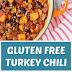 Gluten Free Turkey Chili