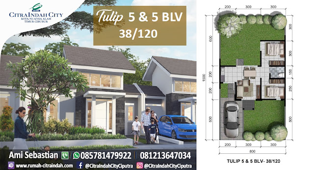 Tulip 5 dan 5 BLV, 38/120 Citra Indah City