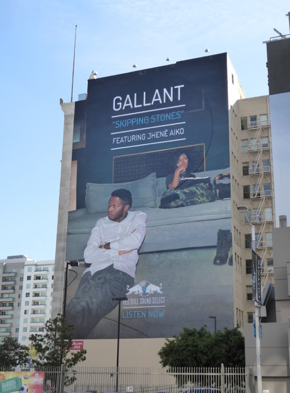 Giant Gallant Red Bull Sound Select billboard