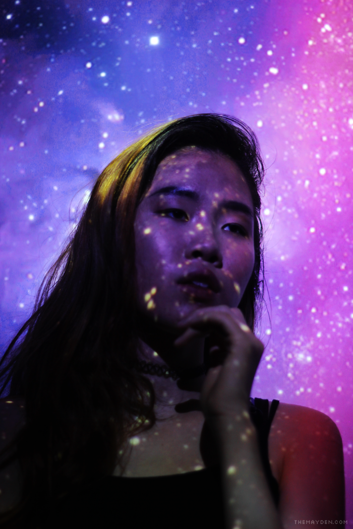 Galaxy Projector Photography by Brunei blogger and writer May Cho