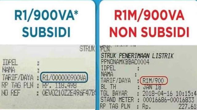 Perbedaan Listrik Bersubsidi dan Non Subsidi