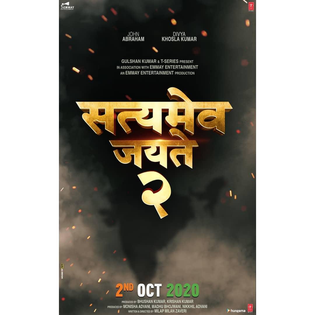 Satyamev Jayat Movie (2020) Cast, Release Date, Budget