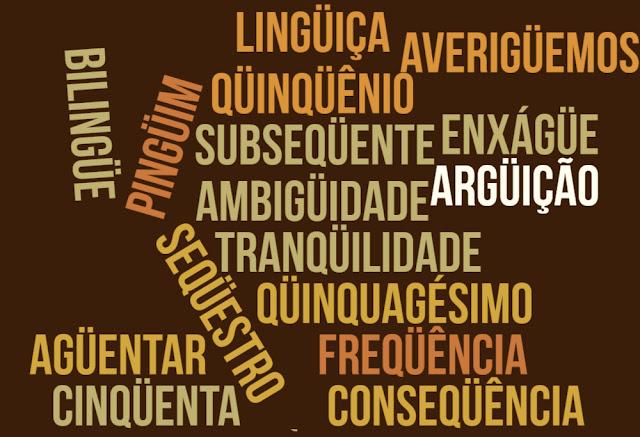 trema acordo ortogrático português ambiguidade pronuncia carlos romero