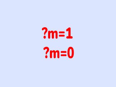 cara menghilangkan kode ?m=1 dan ?m=0 di url blog