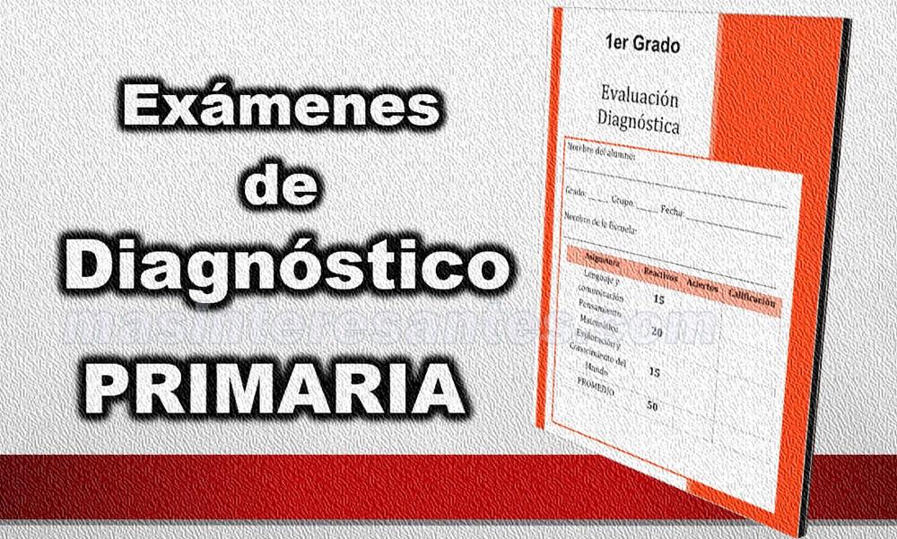 exámenes de diagnóstico para primaria