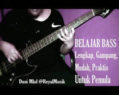 Cara Mudah Bermain Gitar Bass