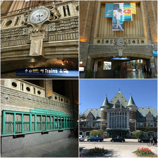 Como é viajar de trem pelo Canadá? Gare du Palais, Quebec