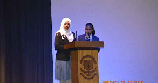 Grand Finale of Intra School Public Speaking Competition
