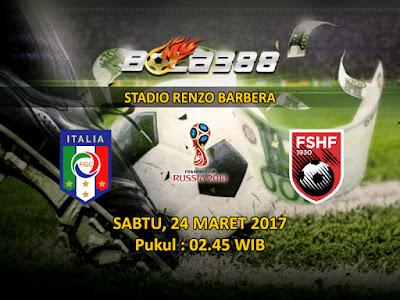 Situs Resmi Prediksi Bola Terjitu - Kualifikasi Piala Dunia Zona Eropa, Italia vs Albania 25 Maret 2017
