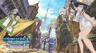 DanMachi S2 Episode 1 - 12 + OVA Subtitle Indonesia