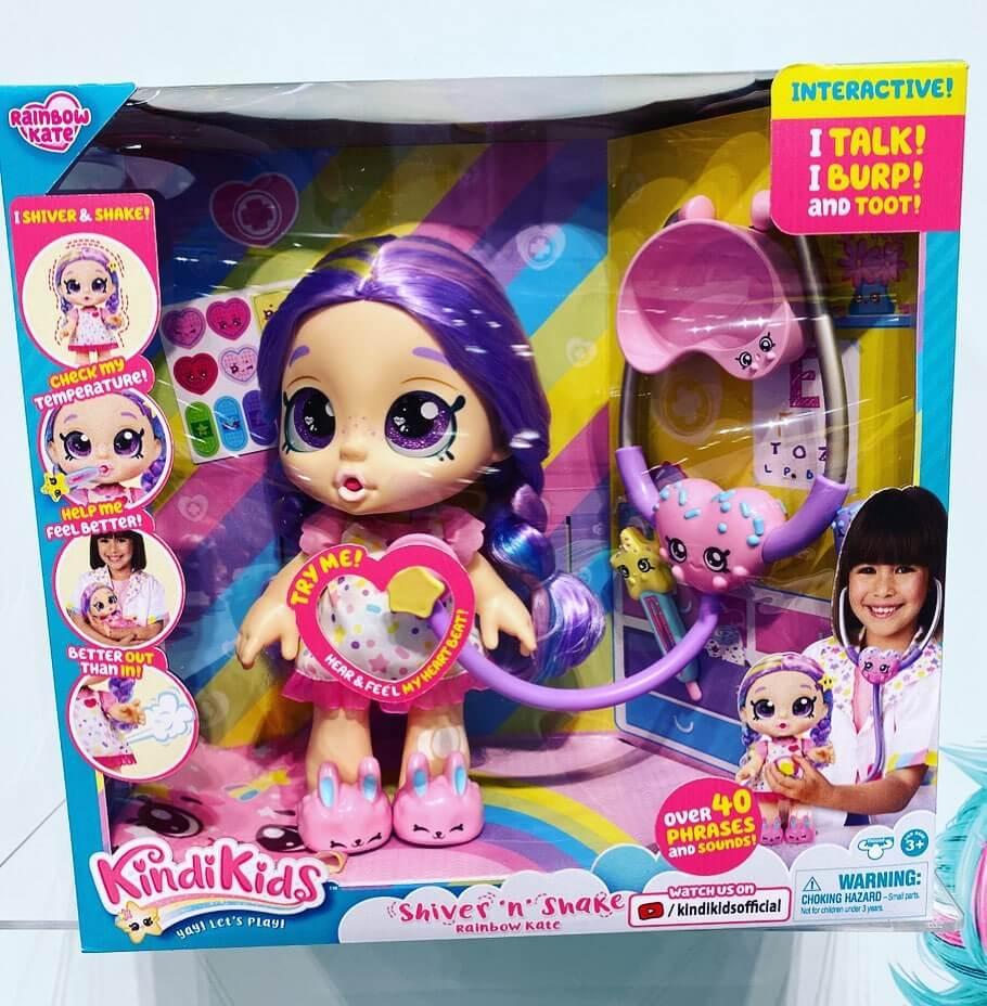 Интерактивная кукла Kindi Kids новинки для девочек 2020