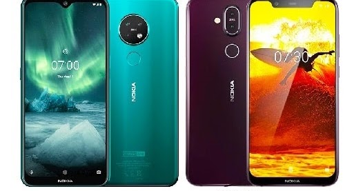Nokia 7.2 Vs Nokia 8.1 Specs Comparison