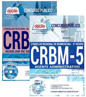 Apostila Conselho Regional de Biomedicina 5 Região 2018.