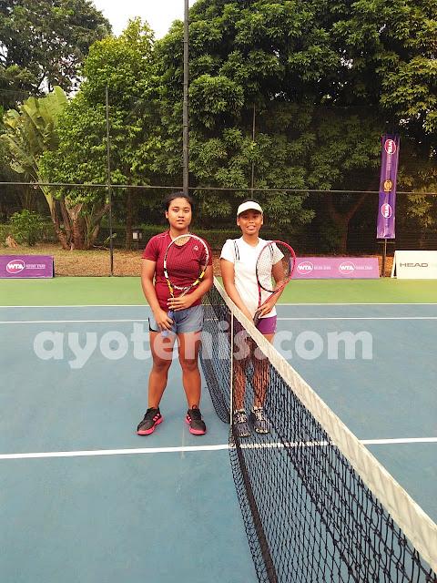WTA FUTURE STARS - Indonesia Qualification: Naura Melaju ke Perempat Final