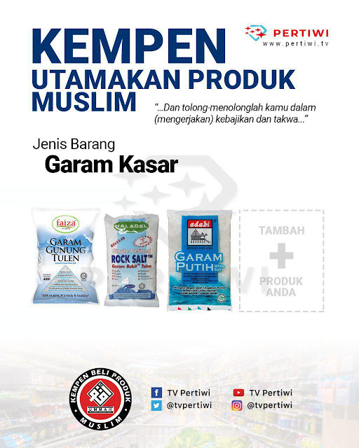Jom kenal produk Muslim