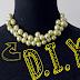 Preparate para las fiestas con DIY - collar de perlas