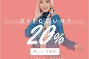 Promo Nadine Fashion Diskon 20% All Item Hingga 30 April 2020