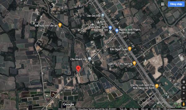 Bán 800m2 đất mặt tiền đường Hà Quang Vóc, xã Bình Khánh