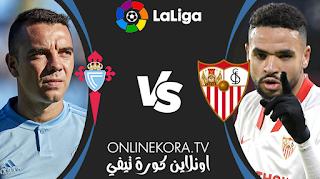 مشاهدة مباراة سيلتا فيغو وإشبيلية بث مباشر اليوم 12-04-2021 في الدوري الإسباني الدرجة الأولى