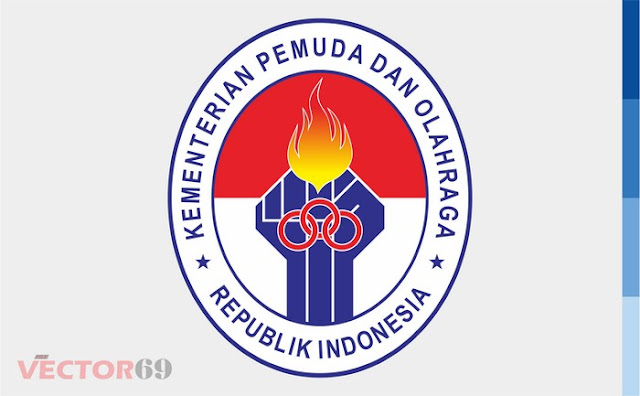 Logo Kemenpora (Kementerian Pemuda dan Olahraga) Indonesia - Download Vector File EPS (Encapsulated PostScript)