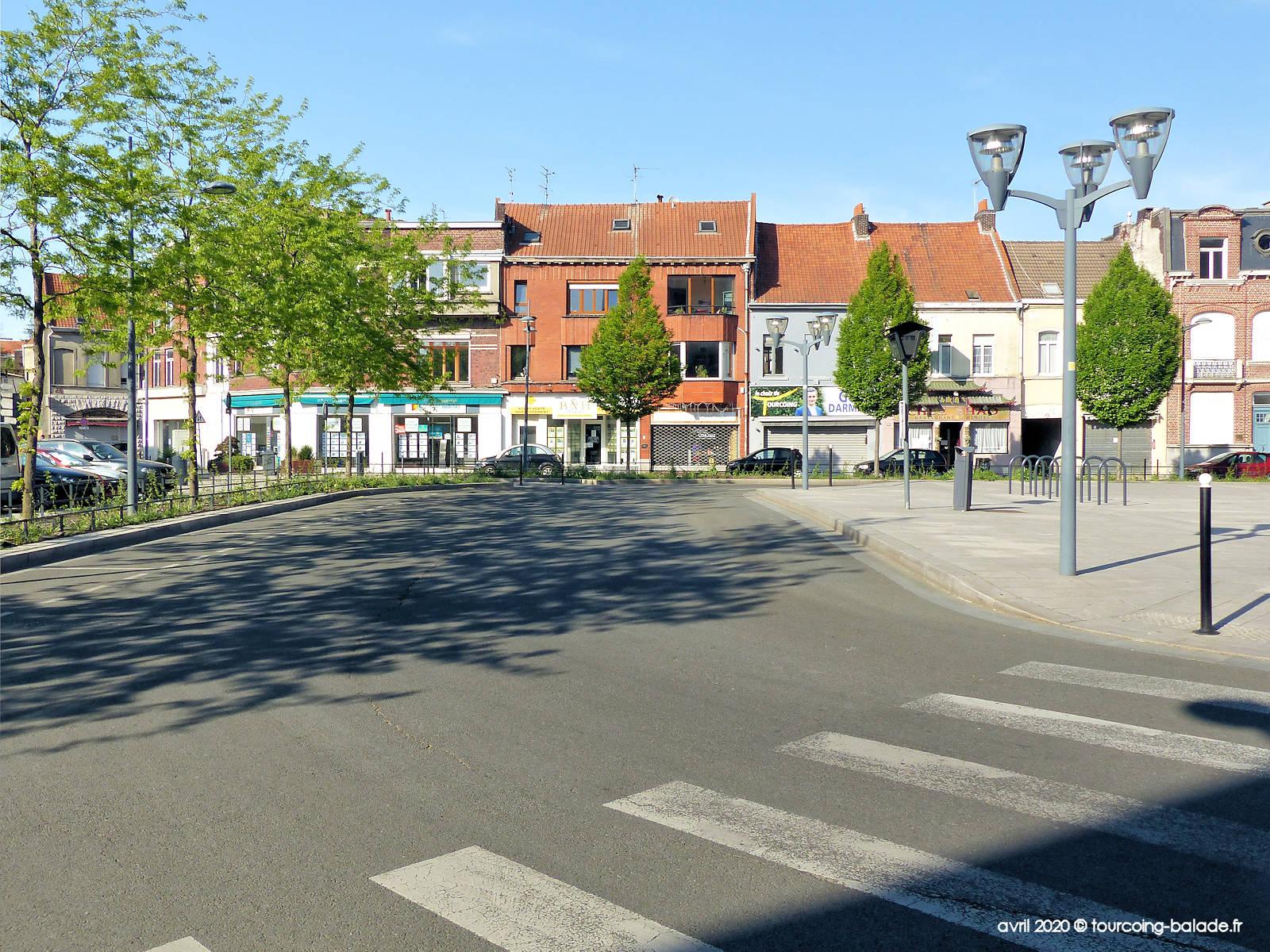 Place Roussel, Tourcoing 2020 - Atelier Créacoeur