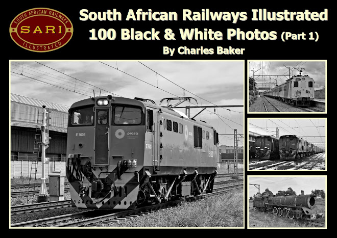 South African Railways Illustrated - 100 Black & White Photos (Part 1)