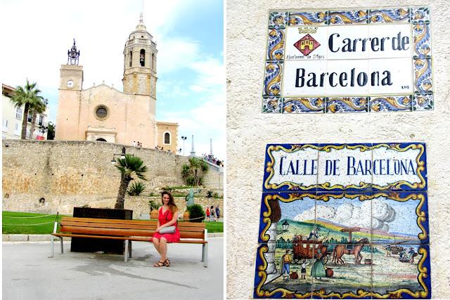 The Catholic Church of Sant Bartomeu & Santa Tecla in Sitges