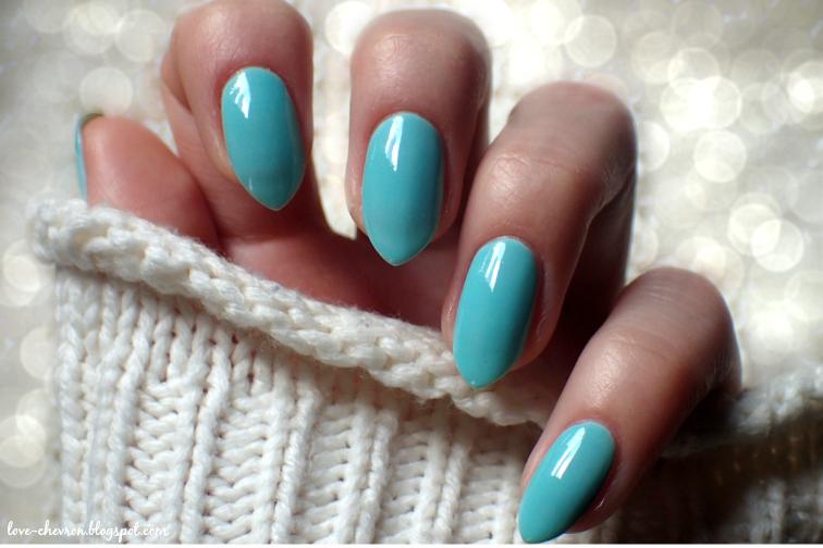 miętowe lakiery do paznokci