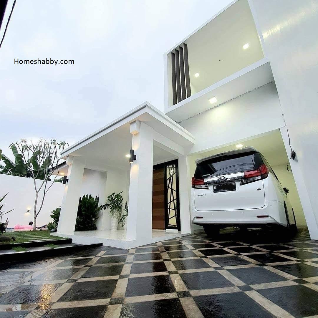 Idaman Semua Orang Desain Rumah Mewah Lengkap Fasilitas Ada Kolam Renang Juga Homeshabby Com Design Home Plans Home Decorating And Interior Design