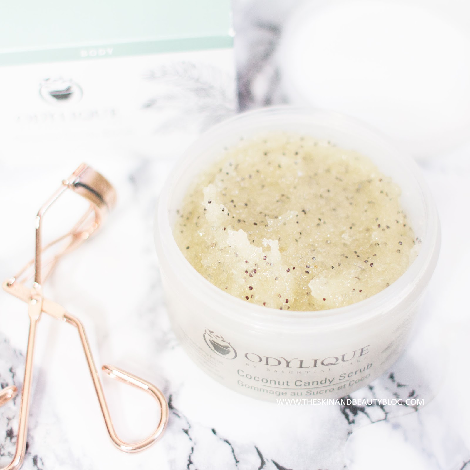 Odylique Organic Coconut Candy Scrub Review