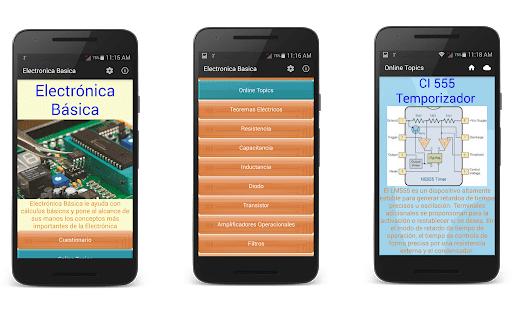 Ingeniería Electronica app