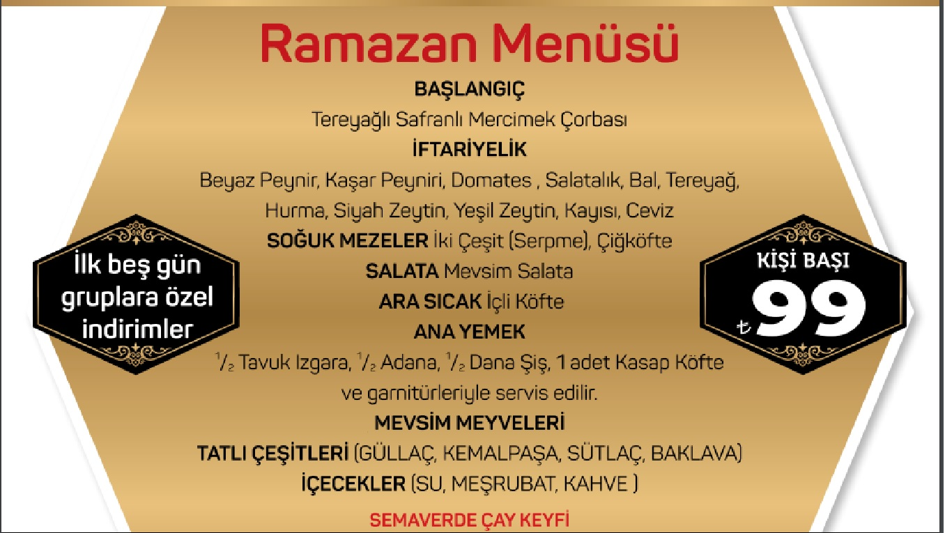 sarıhan iftar menüsü sarıhan başakşehir menü istanbul başakşehir iftar yerleri iftar menüleri sarıhan başakşehir iletişim