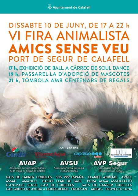 Esguard de Dona - VI Fira Animalista a Segur de Calafell Dissabte 10 de juny de 2017