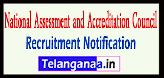 NAAC National Assessment and Accreditation Council Recruitment Notification 2017 Last Date 23-05-2017