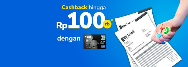 #Bank BCA - #Promo Voucher Beli Pulsa Sampai Tagihan Dapat Cashback Hingga 100K (s.d 30 Nov 2020)